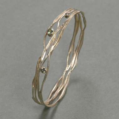 others - M 05 - Bracelet: gold, zirconium