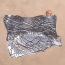 B 09 - Brooch: oxidized silver, sunstone