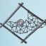 B 05 - Brooch: oxidized silver, gold, rock crystal (RM)